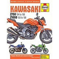 Reparatur Anleitung KAWASAKI Z750 & Z1000 2003 - 2008