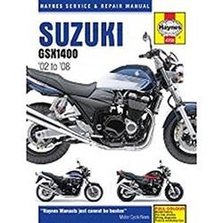 Reparatur Anleitung SUZUKI GSX1400 2002-2008