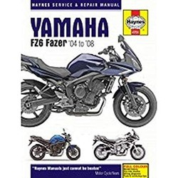 Repair Manual YAMAHA FZ6 FAZER 04 - 08
