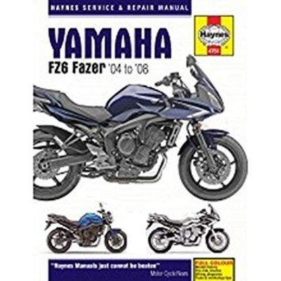 Haynes Reparatur Anleitung YAMAHA FZ6 FAZER 04 - 08