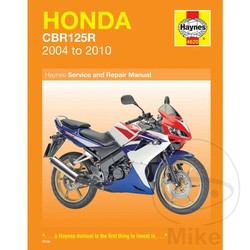 Repair Manual HONDA CBR125R (04-10)