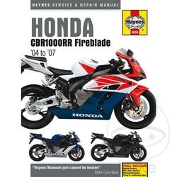 Repair Manual HONDA CBR1000RR FIREBLADE (04-06)