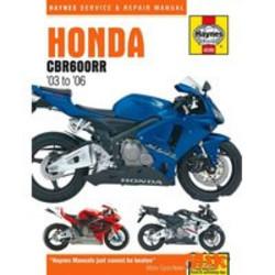 Werkplaatshandboek HONDA CBR600RR 2003 - 2006