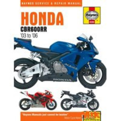 Haynes Repair Manual HONDA CBR600RR 2003 - 2006