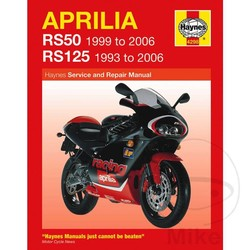 Werkplaatshandboek APRILIA RS50 & RS125 (93-06)