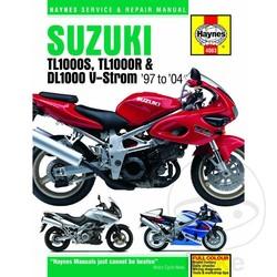 Werkplaatshandboek SUZUKI TL1000S/R & DL1000 V-STROM 1997 - 2004