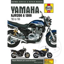 Werkplaatshandboek YAMAHA XJR1200/1300