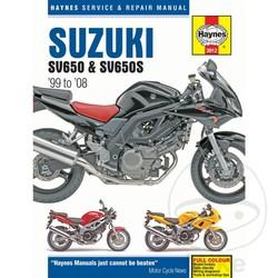 Reparatur Anleitung SUZUKI SV650 & SV650S (99-08)