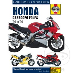 Repair Manual HONDA CBR600F 99-06