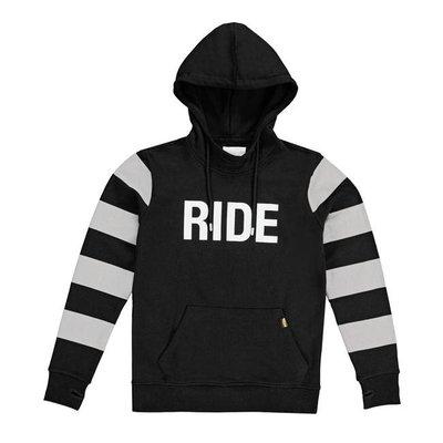 Roeg Ringo hoodie black/grey