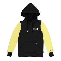 Lady's Summer Hoodie Black / Yellow