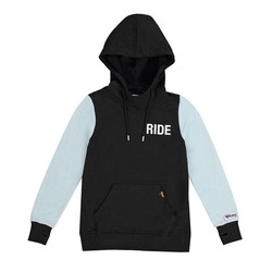Lady's Summer hoodie black/blue