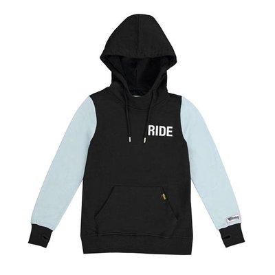 Roeg Lady's Summer hoodie black/blue