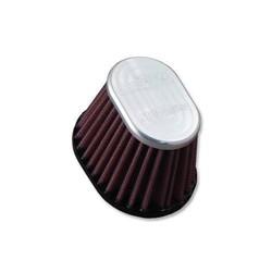 Filtre ovale avec sommet en aluminium
