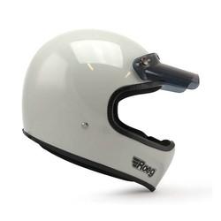 Peruna helmet fog white