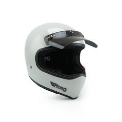 Peruna helm Fog white
