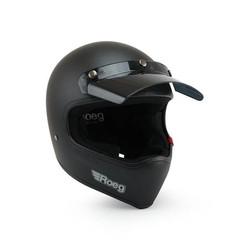 Peruna helm mat zwart