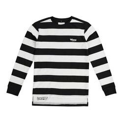 Seb jersey zwart / wit