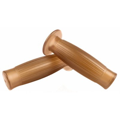 22MM Ballon Grips Transparant Brown