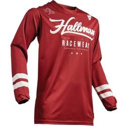 Maillot Hallman Hopetown rouge