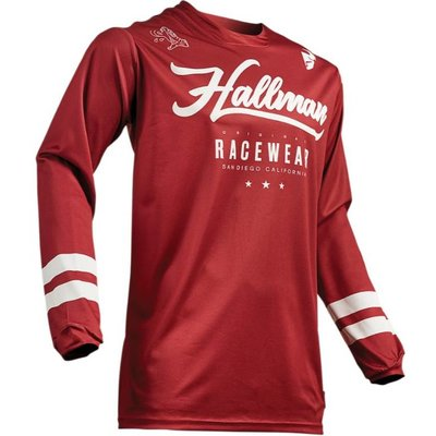 Thor Maillot Hallman Hopetown rouge