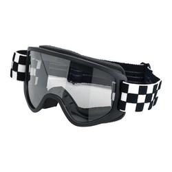 Lunettes de moto 2.0 Checkers Black