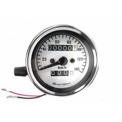 Cafe Racer Speedometer 140 km/h 1,4