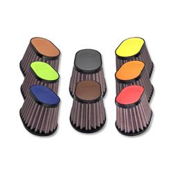 54MM Oval Filter Leder Top