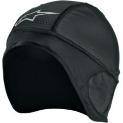 Skull cap zwart