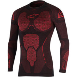 Ride tech summer top red
