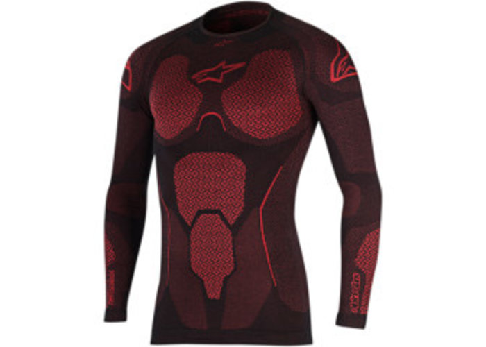 Alpinestars Ride tech summer top red