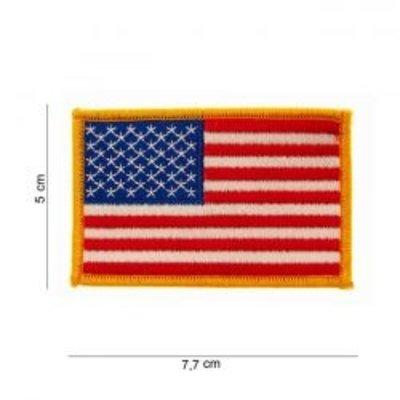 Écusson avec drapeau - USA