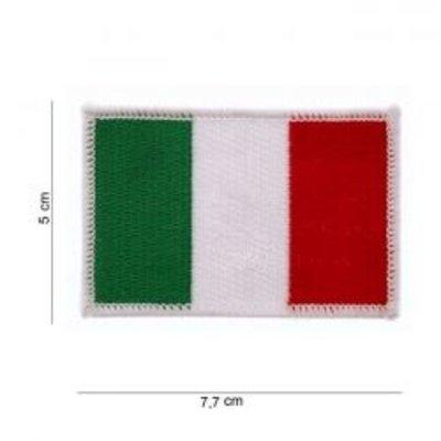 Écusson avec drapeau - Italie