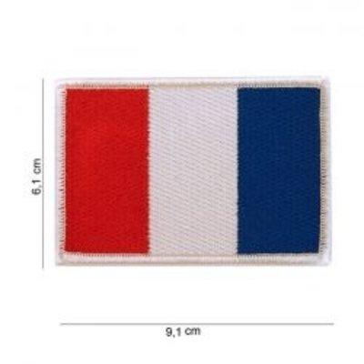 Écusson avec drapeau - France