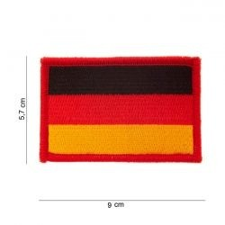 Écusson avec drapeau - Allemagne