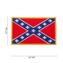 Écusson avec drapeau - Rebel