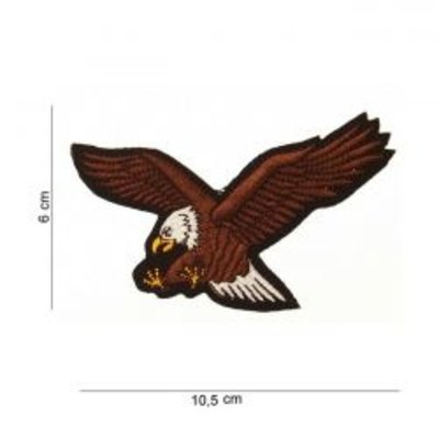 Patch flying eagle