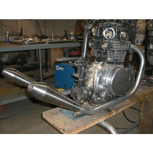 38MM DIY Auspuff Rohr Kit Stahl