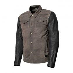 Textiel jacket Johnny Charcoal / zwart