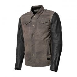 Textile Jacket Johnny Charcoal/black
