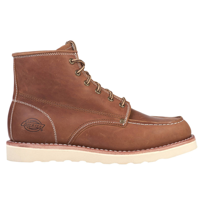 "Dickies NEW ORLEANS 5"" Bottines Moc Toe brun foncé"