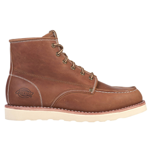 """Dickies NEW ORLEANS 5"""" Moc toe boots donkerbruin  size 43"""