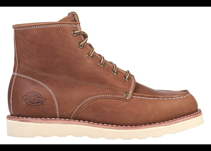 "Dickies NEW ORLEANS 5"" Moc toe boots dark brown"