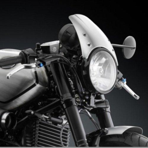 BMW R NineT koplamp kuip silver