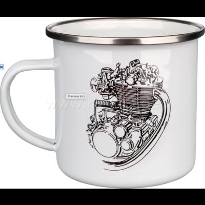 Kedo Coffee Mug Enamel XT/SR500 Engine