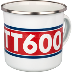 Koffiemok emaille Yamaha TT600