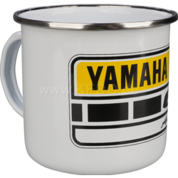 Tasse en émail 60ème anniversaire de Yamaha