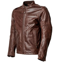 Leather jacket ronin RS signature tobacco