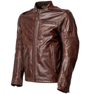 Roland Sands Leren jacket ronin RS signature tobacco