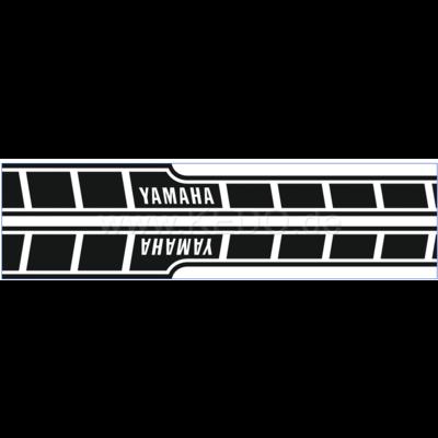 Kedo Tankstickers Yamaha Speedblock zwart/transparant dynamisch